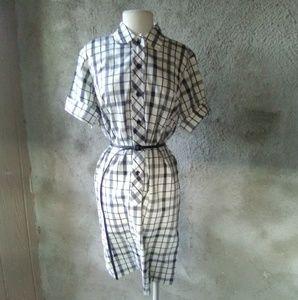 Rockabilly Retro checkered dress